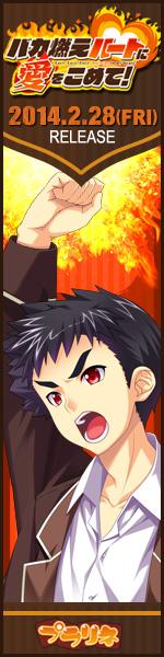 「バカ燃えハートに愛をこめて!」2014年2月28日発売予定!!